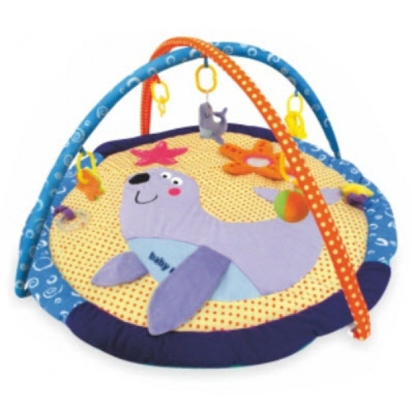 Розвиваючий килимок з дугами Baby Mix Морський котик