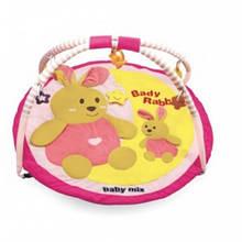 Развивающий коврик с дугами Baby Mix Кролик