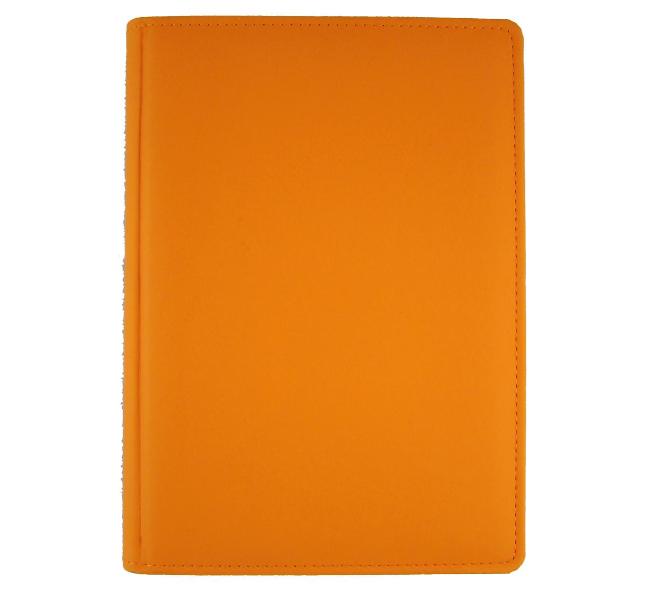 Ежедневник недатированный BRISK Vienna Стандарт А5(14,2х20,3) оранжевый