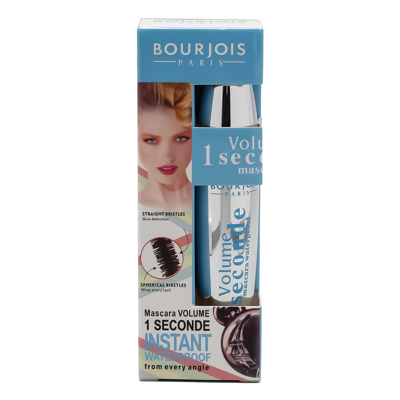 Вoдoстoйкая тушь для ресниц Bourjois Volume 1 Seconde Mascara Waterproof
