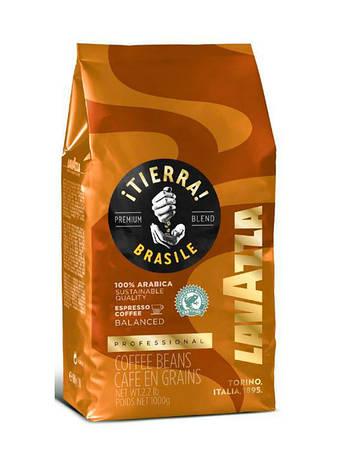 Кофе зерно Lavazza Tierra Brasile 1 кг, фото 2