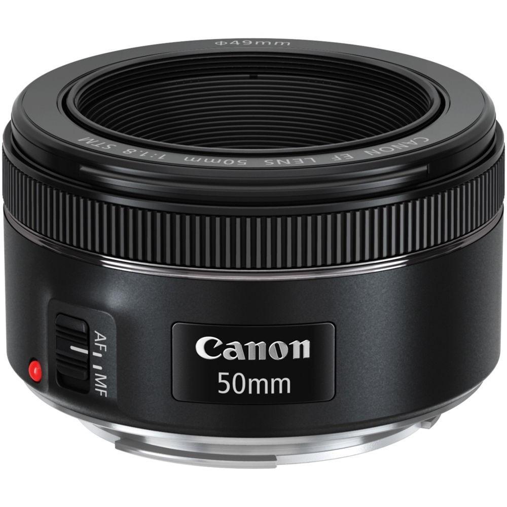 Стандартный объектив Canon EF 50mm f/1.8 STM