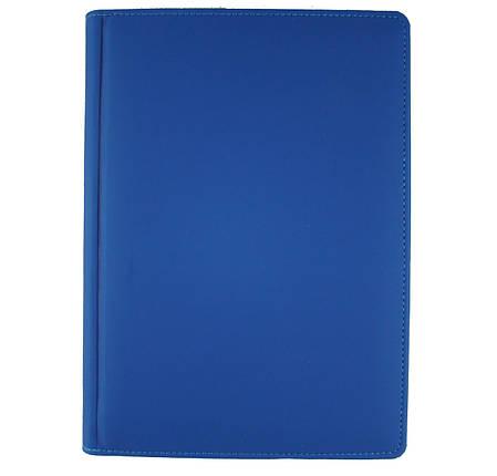 Ежедневник недатированный BRISK Vienna Стандарт А5(14,2х20,3) синий, фото 2