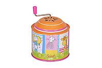 Музыкальная детская шарманка goki 53836g susibelle