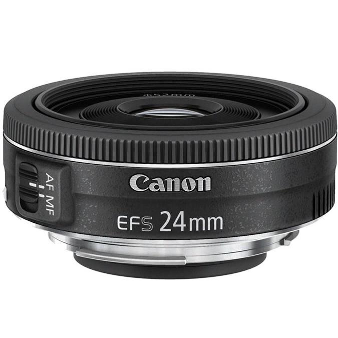 Широкоугольный объектив Canon EF-S 24mm f/2.8 STM
