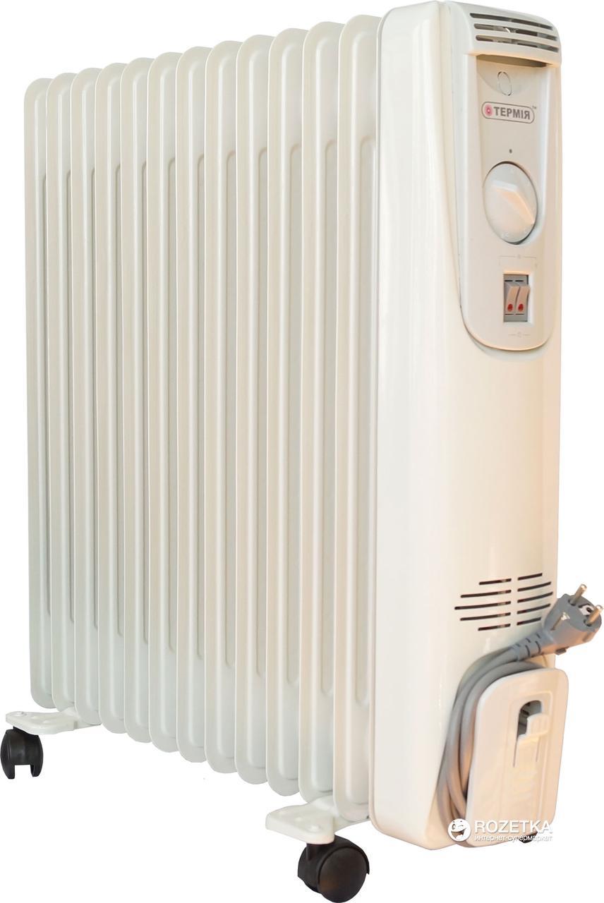 """Масляный  радиатор""""Термия"""" 0815, 8 секций, 1,5 кВт"""