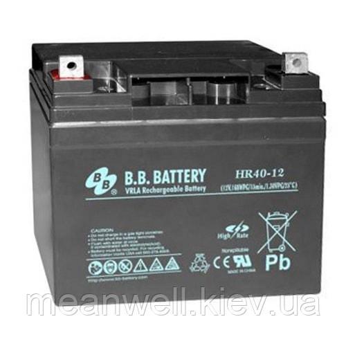 Аккумуляторная батарея B.B. Battery HR40-12S/B2 12в, 40Ач (AGM)