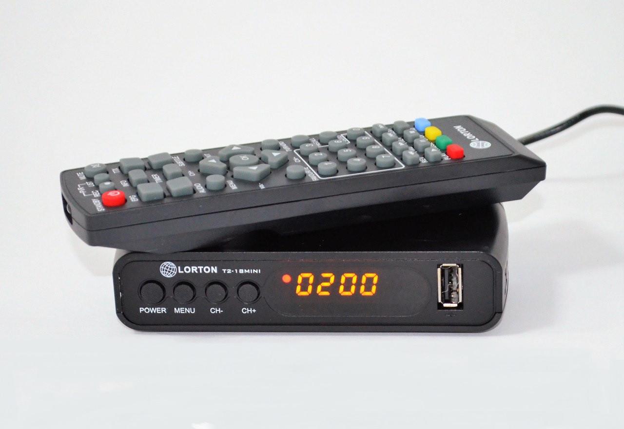 Ресивер наземного вещания Lorton T2-18 mini