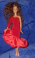 Одежда для кукол типа Барби, Леди в красном