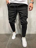 Мужские спортивные брюки джоггеры / трикотаж / Украина 47-1167, фото 1