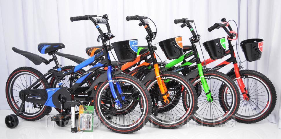 """Детский  велосипед 18""""HAMMER"""" S500 Черно-Красный"""
