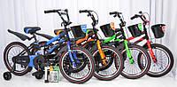 """Детский  велосипед 18""""HAMMER"""" S500 Черно-Красный, фото 1"""