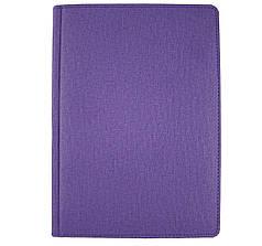 Ежедневник недатированный Brisk Cambric А5(14,2х20,3) фиолетовый