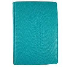 Ежедневник недатированный Brisk Crocodile Стандарт А5(14,2х20,3) голубой