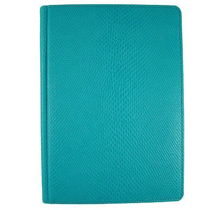 Ежедневник недатированный Brisk Crocodile Стандарт А5(14,2х20,3) голубой, фото 2