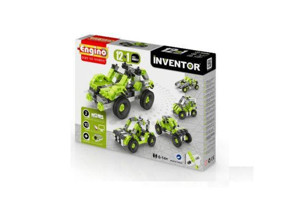 Конструктор Engino серії Inventor 12 в 1 - Автомобілі g1231