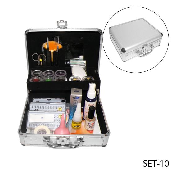 Набор для наращивания ресниц - SET-10 (E-010)