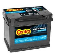 Аккумулятор Centra Micro-hybrid AGM CK600 60 А/ч