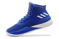 Баскетбольные кроссовки Adidas Rose 8 Boost blue