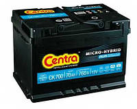Аккумулятор Centra Micro-hybrid AGM CK700 70 А/ч, фото 1