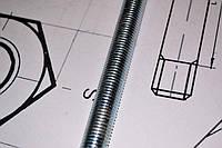 Шпилька М27 DIN 975 с левой резьбой, фото 1