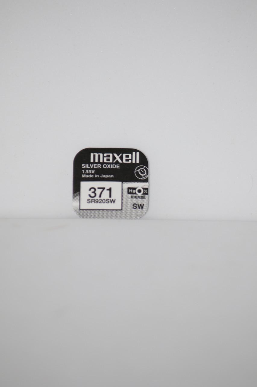 Часовая батарейка Maxell SR920SW 1PC  EU (371)