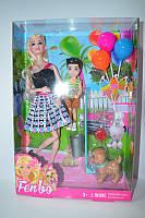 Кукла с собачкой FB062