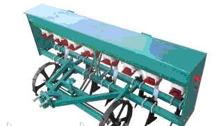 Сеялки мотоблочные точного высева 2BJ-5F рядов с бункером для удобрений