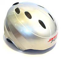 Шлем защитный Inter Fun Bavar Sport СЕРЫЙ