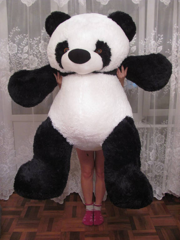 Мягкая игрушка мишка Панда 170 см.
