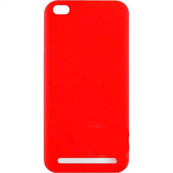 "Накладка Xiaomi Redmi 5a ""SIMPLE COLOR"" Красная"
