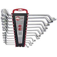 Профессиональный набор ключей накидных 12 едениц 6-32 мм INTERTOOL HT-1103