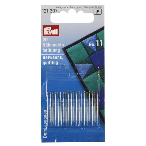 Иглы короткие для шитья Prym 121307 (№ 11, 0,50 x 26 мм)