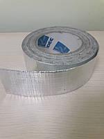 Армированная алюминиевая лента (скотч) 75мм-50м.пог.
