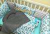 Комплект в кроватку «Мозайка» (с простынкой), фото 7