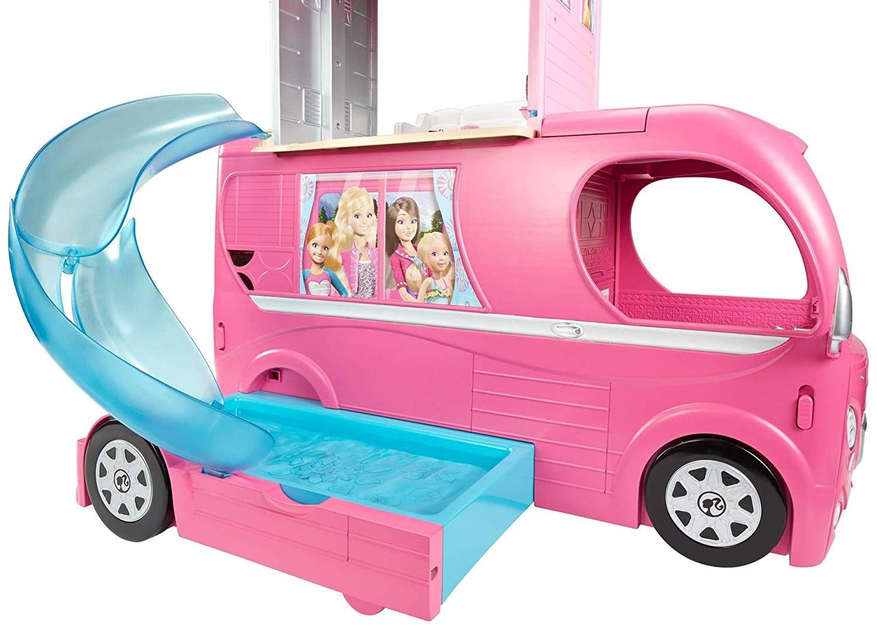 Кемпер трейлер Барби Barbie Pop Up Camper для Барби фургон для путешествий