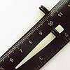 Для пирсинга ушей конусная растяжка (диаметр 5 мм). Прозрачный акрил (светиться в темноте). Цена за 1шт.