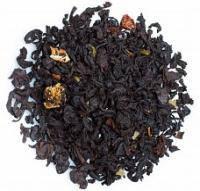 Земляника со сливками черный ароматизированный чайTeahouse 100 гр.