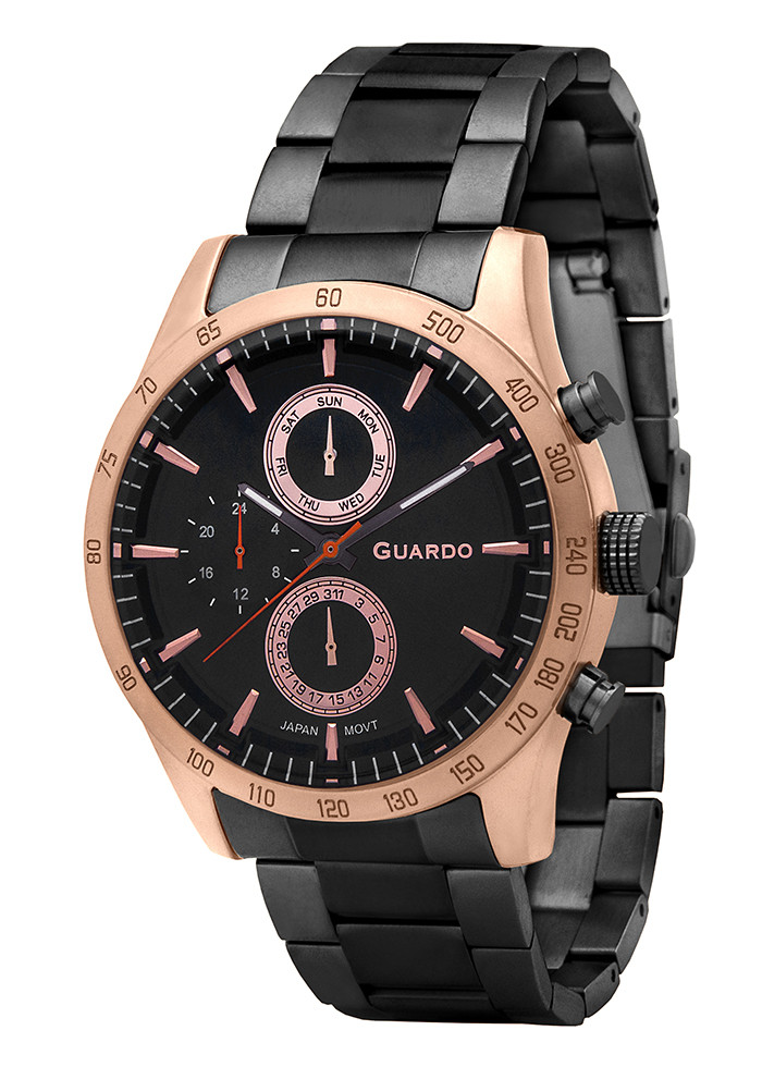 Часы мужские Guardo P11675 (m) RgBB
