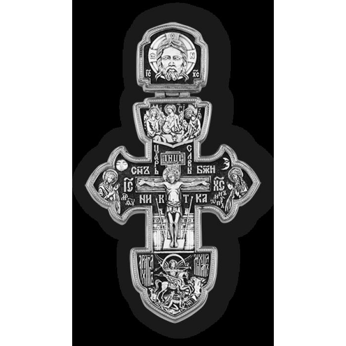 Крест Распятие Христово. Архангел Михаил. Святая Троица. Св. блгв. кн. Александр Невский.