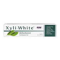 Зубная паста с мятой NOW Solutions Xyli White 181 грамм
