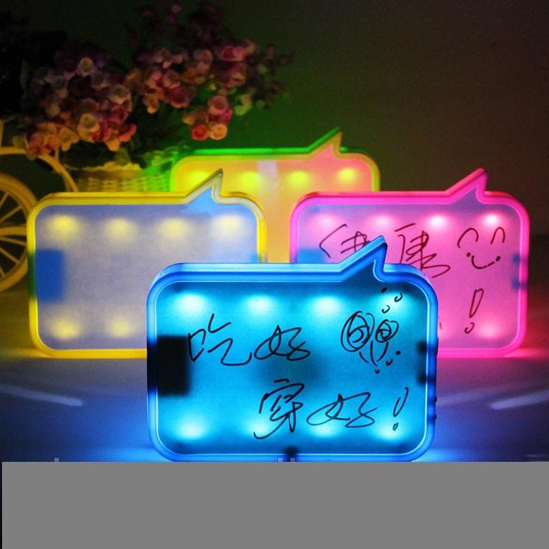 LED доска для записей с диктофоном