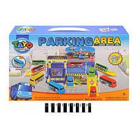 Игровой набор Паркинг для автобусов Тайо Parking area 660-212