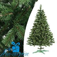 Новогодняя искусственная елка из плёнки ПВХ ЛЕСНАЯ 100 см, фото 1
