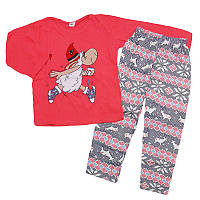 Пижама для девочки трикотаж  104-122(4-7 лет ) арт.38204