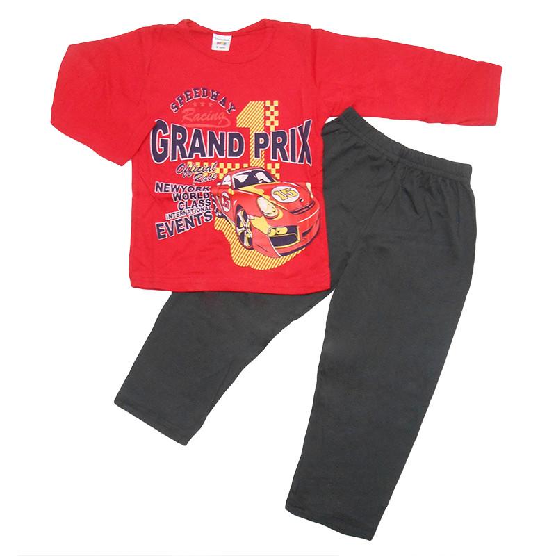 Пижама для мальчика трикотаж  104-122(4-7 лет ) арт.38010