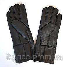Женские перчатки  на натуральном меху, фото 3
