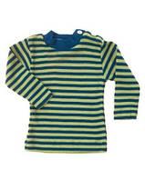 Термокофта с длинным рукавом и пуговицами на плече Engel шелк/шерсть зеленая, фото 1