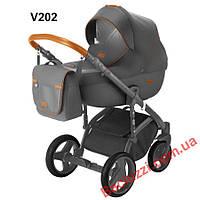 Детская коляска-трансформер Adamex V202 Massimo Deluxe