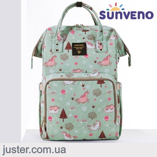 41b370bbc39f Рюкзак-сумка для мам Оригинал Sunveno Large. Умный органайзер. Стильный  дизайн.